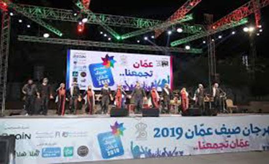 أمسية فنية مميزة للسلمان والدلو والفرقة الفلسطينية في مهرجان صيف عمان