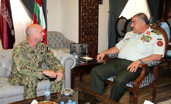 رئيس هيئة الأركان المشتركة يستقبل قائد العمليات الخاصة في القيادة المركزية الأمريكية