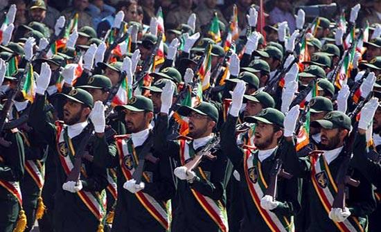 وزارة الخزانة الأمريكية تضع الحرس الثوري الإيراني على قائمة العقوبات