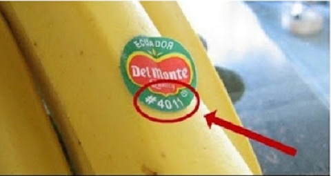 إذا وجدت هذا الرقم على العلامة الموجودة على الفاكهة لا تشتريها ..!