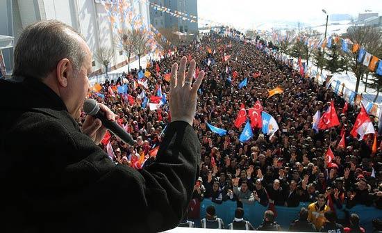 أردوغان: غصن الزيتون قضت في 14 يوما على 825 إرهابيا