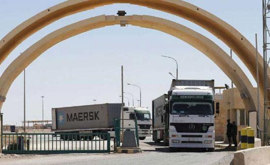 الجمارك العراقية تضبط شاحنات ومواد محظورة في منفذ طريبيل الحدودي
