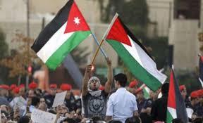 الكرك : وقفة اجتجاجية تضامنا مع الشعب الفلسطيني