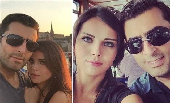 صور| زوجة باسم ياخور رائعة الجمال وتشعل الإنترنت بإطلالة مارلين مونرو!