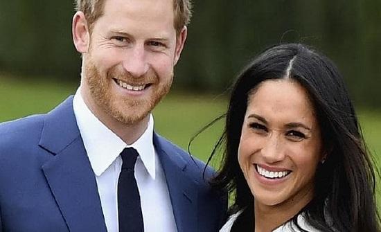 """شاهدوا.. """"لحظة محرجة"""" لميغان ماركل بعدما تجاهلها الأمير هاري أمام عدسات الكاميرا!"""