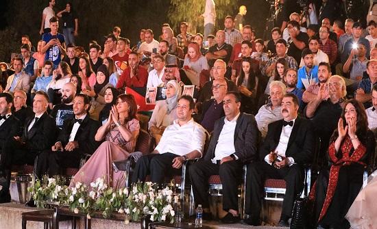 افتتاح مهرجان الأفلام القصيرة في مهرجان جرش