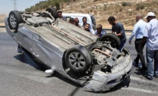 4 إصابات اثر حادث تدهور في المفرق