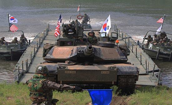 ألمانيا : تدعو أمريكا وكوريا الجنوبية للتحلي بالحكمة في تنفيذ المناورة المخطط لها