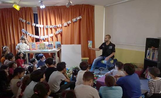 مكتبة درب المعرفة للاطفال تحتفل بعيدها الخامس