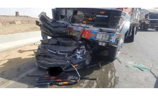 غلبه النوم أثناء القيادة.. وفاة زوجة فنان شهير في حادث سير مروع