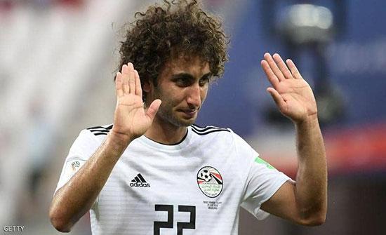 """بعد """"أزمة إنستغرام"""".. منتخب مصر يستبعد عمرو وردة نهائيا"""