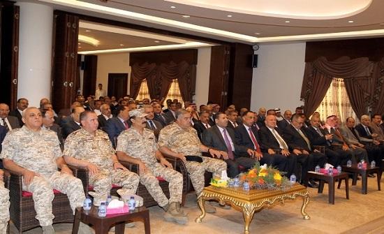 فريحات يؤكد على  يقظة قواتنا المسلحة وجاهزيتها الكاملة في التعامل مع التحديات