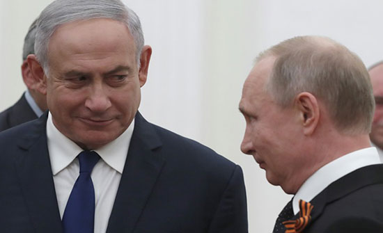 بوتين ونتنياهو يبحثان التنسيق في سوريا