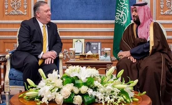 ولي العهد وبومبيو اتفقا على مواصلة خفض التصعيد في اليمن