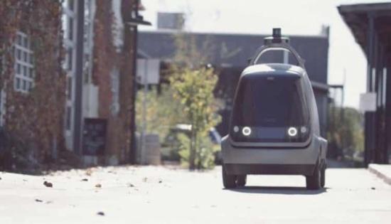 بالصور والفيديو: سيارة ذاتية القيادة لتوصيل الطلبات وطهي الطعام