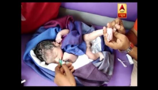تذكرة سفر مجانية مدى الحياة لطفل هندي ولد في طائرة