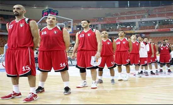 منتخب السلة يلتقي نظيره المصري غدا