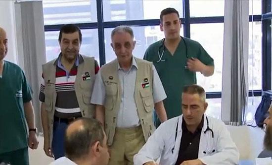 البعثة الطبية الأردنية تعاين 3800 حاج في مكة والمدينة