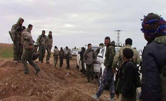 الوحدات الكردية تشن هجمات مضادة بشمال وغرب عفرين