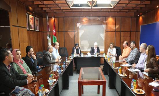 بحث تعزيز التعاون بين مؤسسة الأميرة عالية وأمانة عمان