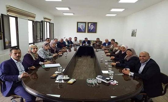 اليزيدية تشكر الخشمان واعضاء بلدية السلط الكبرى