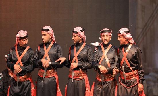 """فعاليات """"الساحة"""" في """"جرش الأثرية"""" تستقطب جمعاً غفيراً من جمهور المهرجان"""