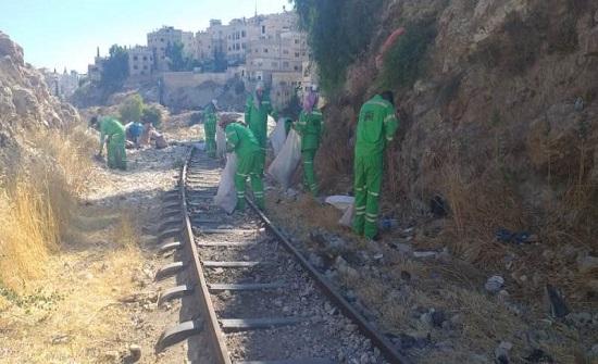 الأمانة تنفذ حملة بيئية على مسار الخط الحديدي الحجازي