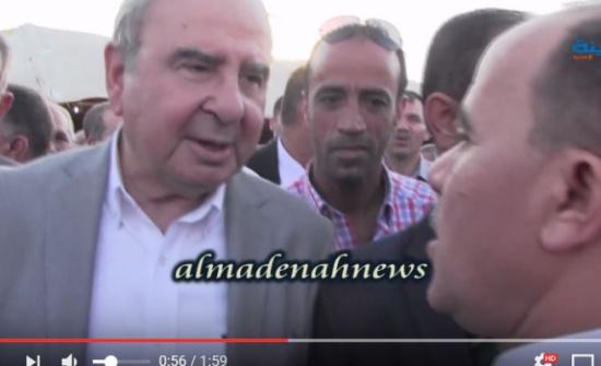 بالفيديو : شاهدوا المصافحة بين عشيرتي الشياب والعثامنة بعد إقرار الصلحة