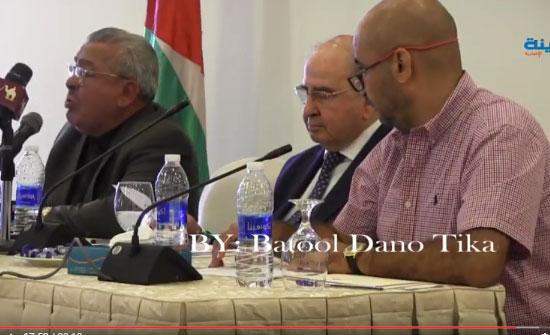 شاهد بالفيديو .. الروابدة : لا يوجد فلسطينيون في الاردن