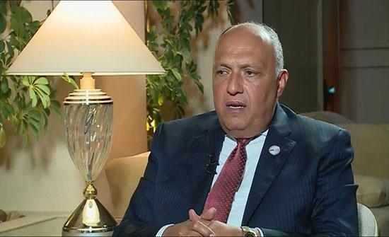 شكري عن مشاركة مصر بمنتدى البحرين: لن نتنازل عن حبة رمل في سيناء
