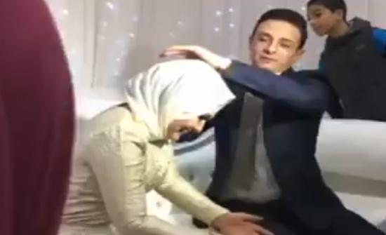 فيديو.. شاهدوا ماذا فعلت العروس المجنونة وحصد مئات آلاف المشاهدات