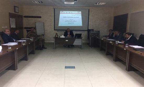 ناصرالدين يعرض لإستراتيجية مكافحة الإرهاب والتطرف في المركز الاردني لمكافحة التطرف