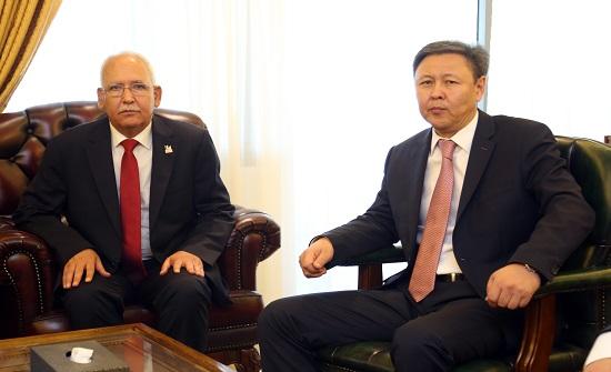 سفير كازخستان في الأردن : سنؤمن الحماية للمهندسين قبل عودة العمل لموقع الاعتداء