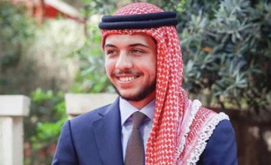 ولي العهد يستذكر الملك الراحل الحسين بن طلال