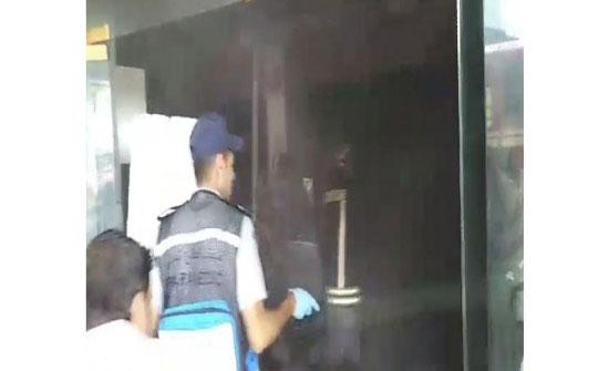 اخماد حريق مطعم في عجلون