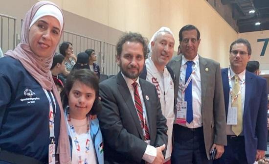 الذهب لأبطال الأردن بالأولمبياد الخاص العالمي بأبوظبي