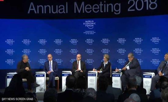 """دافوس يناقش """"تحقيق التوازن في الشرق الأوسط"""""""