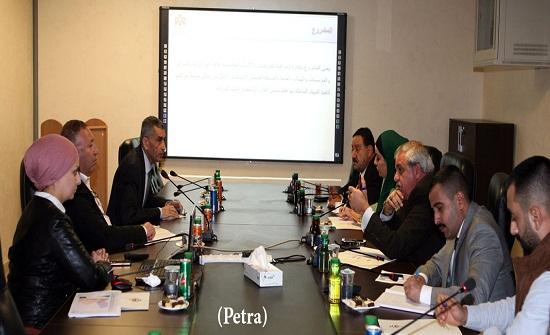 المبادرة النيابية تطلع على نتائج مشروع تتبع المركبات الحكومية في وزارة النقل