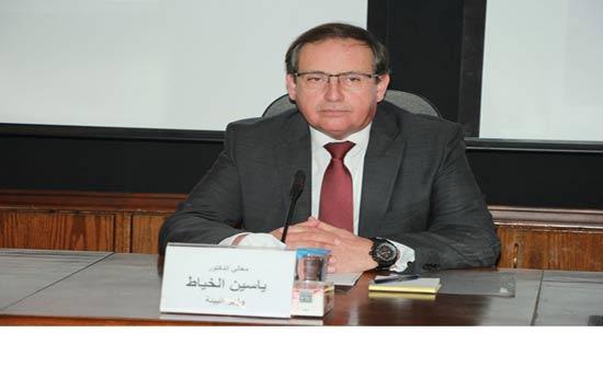 وزير البيئة يحاضر في كلية الدفاع الوطني