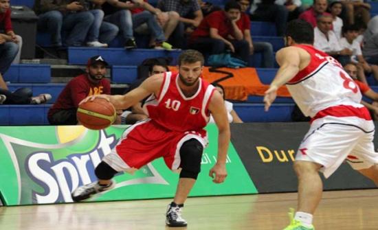منتخب الناشئين لكرة السلة يلتقي نظيره اللبناني بغرب آسيا غدا