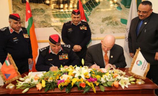 توقيع اتفاقية تعاون ما بين المديرية العامة للدفاع المدني وشركة البوتاس العربية