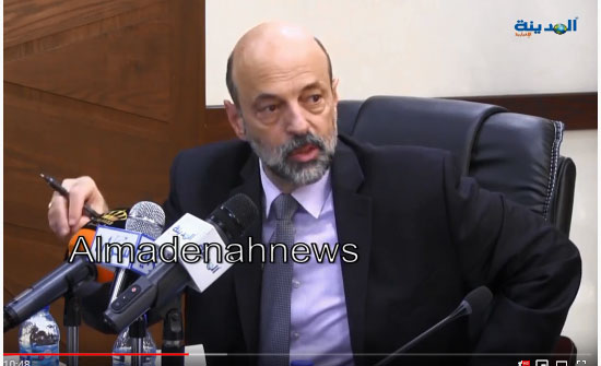 الرزاز : الحكومة ستنتصر لكل مظلوم في قضية الدخان