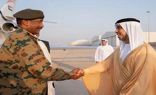 رئيس الانتقالي السوداني يصل الإمارات