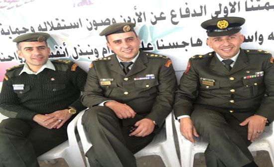 مبروك لعوض العسولي تخرج نجله نضال من جامعة مؤتة