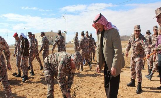 المنطقة العسكرية الجنوبية تحتفل بيوم الشجرة
