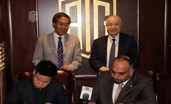"""السفير الصيني وأبوغزاله يحضران توقيع اتفاقية حول الذكاء الاصطناعي بين """"يوبيتيك الصينية"""" و""""تاغ العالمية"""""""