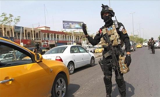 اجراءات أمنية مشدة ببغداد لتفادي وقوع أفعال إرهابية محتملة