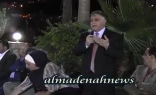 شاهد بالفيديو والصور  :  حوار انتخابي لمرشحي صويلح في منزل ظاهر عمرو بالكمالية