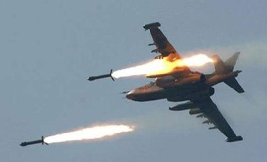 سوريا : عشرات الشهداء بقصف جوي لطائرات روسيا والنظام