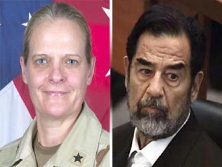 سجّانة صدام حسين تروي تفاصيل 45 دقيقة معه في الزنزانة